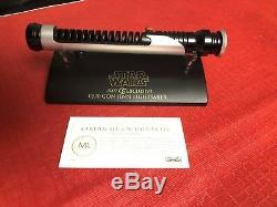 Master Replicas QUI-GON JINN SW-402 Star Wars LIGHTSABER. 45 ep1 TPM