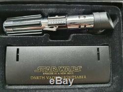Master Replicas Star Wars Darth Vader Lightsaber. 45 Scale Episode IV A New Hope