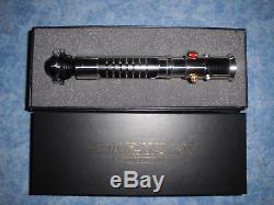 Master Replicas Star Wars Obi Wan Kenobi TPM 11 Elite Edition Lightsaber Hilt