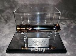 Master Replicas Star Wars Scale 11 ROTS LE Darth Sidious Lightsaber