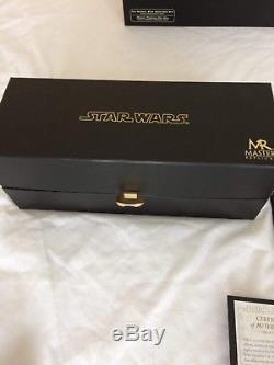 Master replicas Luke Skywalker Lightsaber, Limited Edition 38/2500