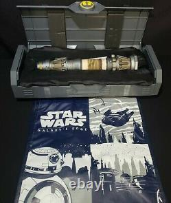 NEW 2021 Disney Star Wars Galaxy's Edge REY SKYWALKER Hilt Legacy Lightsaber
