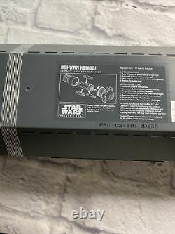 NEW SEALED Disney Star Wars Galaxy's Edge OBI WAN KENOBI Legacy Lightsaber