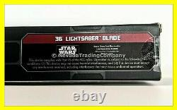 NEW Star Wars Galaxy Edge REY Legacy Lightsaber 36 BLADE Luke Anakin Skywalker