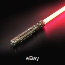 New Princess Leia Star Wars Lightsaber Heavy Dueling Rechargeable Metal Handle