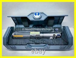 New Star Wars Galaxy's Edge Rey Luke Anakin Skywalker Legacy Lightsaber Silver
