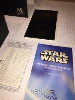 OBI WAN KENOBI MASTER REPLICA Lightsaber SW-103 #2256 Star Wars