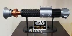 Obi-Wan Kenobi Prop Replica Lightsaber Display Stand- Bubble or ROTS Screen