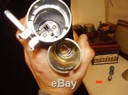 Original Graflex 3 cell flash red handle Star-Wars LightSaber-Vintage sold as-is