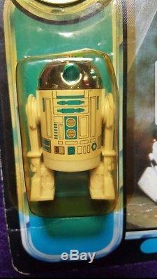 POTF 1985 Star Wars R2-D2 with Pop-Up Lightsaber vintage carded