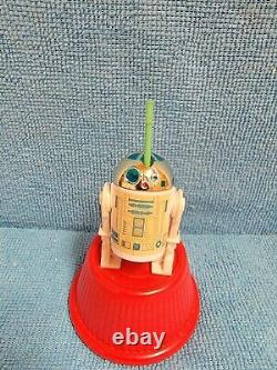 R2-D2 with Pop Up Light Saber POTF Last 17 Kenner Vintage Star Wars 100% ORIGINAL