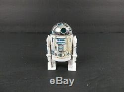 R2D2 Star Wars Action Figure 1977 Light Saber Missing Head Clicks LFL Lucas Film