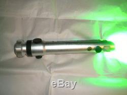 RARE Green Ahsoka Tano Force Lightsaber With Sound FX Saberforge Custom Paint