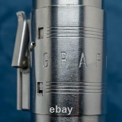 Rare Original 1940's GRAFLEX 3-CELL FLASH HANDLE Star Wars Lightsaber Prop Excel