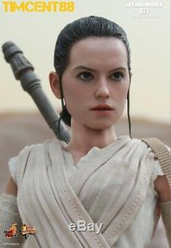 Ready! Hot Toys MMS336 Star Wars EP VII The Force Awakens 1/6 Rey Daisy Ridley