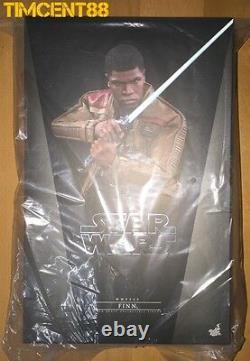Ready! Hot Toys MMS345 Star Wars VII The Force Awakens Finn John Boyega 1/6
