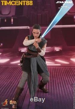 Ready Hot Toys MMS446 Star Wars The Last Jedi 1/6 Rey Jedi Training Daisy Ridley