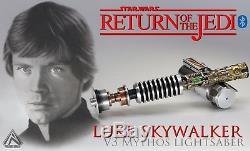 Rolightsaber LUKE Return of the Jedi V3 Mythos lightsaber STAR WARS light saber