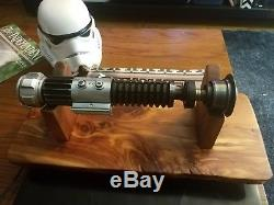 Roman Props Mk1 Saber And RP Crystal Chamber OWK lightsaber obi wan