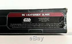 SEALED Star Wars Galaxy's Edge AHSOKA TANO Legacy Lightsaber with36 & 26 Blade