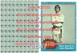 STAR WARS 1977 Luke LIGHT SABRE = POSTER Not Wax Pack 3 SIZES Up To 4 1/2 FT