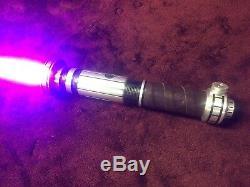 Saberforge Gladius Hero Tier Lightsaber with energy vibration