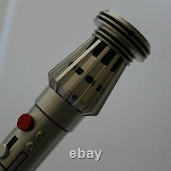 Saberforge Mauler Lightsaber Hilt EMPTY HILT custom saber (no electronics)