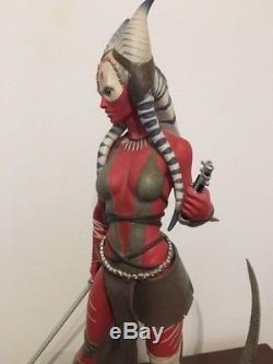 Sideshow Premium Format Shaak Ti Exclusive 1/4 Scale Working Lightsaber