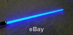 Signature series Star Wars Obi-Wan Kenobi Force FX Lightsaber Hasbro TPM AOTC