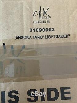 Star Wars Ahsoka Tano Limited Directors Edition Lightsaber