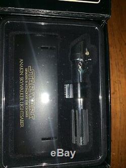 Star Wars Anakin/ Darth Sidious Limited Rare Light Saber