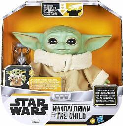 Star Wars Baby Yoda Grogu The Child Animatronic Motion Talking Mandalorian Toy