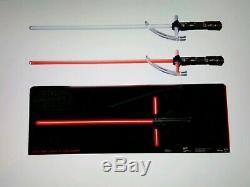 Star Wars Black Series Kylo Ren Lightsaber Force FX Deluxe Prop Replica