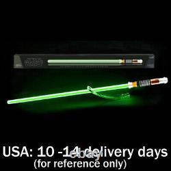 Star Wars Black Series Luke Skywalker Force FX Lightsaber Green 05