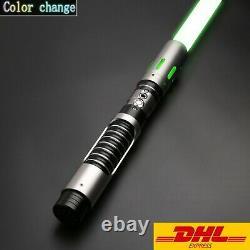 Star Wars Cosplay Lightsaber Luke Skywalker Jedi RGB Laser Force FX Heavy Metal