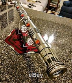 Star Wars Darth Maul Ep. I Phantom Menace Lightsaber With Stand Very Cool