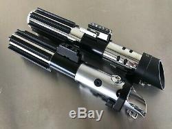 Star Wars Darth Vader ROTJ MPP V6 Graflex Skywalker lightsaber hilt prop set
