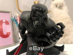 Star Wars Death Vader Statue Figure Collectible Tracy Tubera Light Saber Vinyl