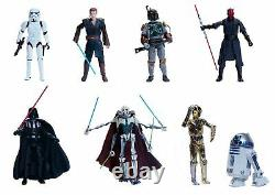 Star Wars Disney D23 Exclusive Elite Series Limited Edition Set of 8 Die Cast