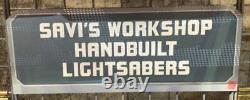 Star Wars Disney Galaxy's Edge 31 Lightsaber BLADE SAVI'S Workshop IN HAND