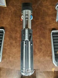 Star Wars Disney Galaxy's Edge Darth Vader Legacy Lightsaber Hilt + Belt Clip