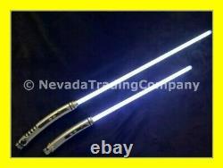 Star Wars Disney Galaxys Edge Ashoka Legacy Hilts + 26 & 36-inch Blades, V2.0