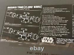 Star Wars Disney Galaxys Edge Clone Wars Ahsoka Tano Legacy Lightsaber Hilts