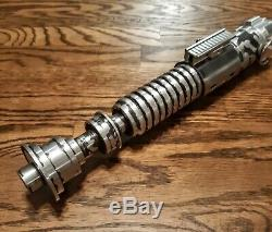 Star Wars EP VI ROTJ Luke Skywalker Lightsaber Hilt V2 See Pics! All Metal