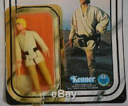 Star Wars Ep1 A New Hope Luke Skywalker 12 Back 1977 Kenner Single Light Saber