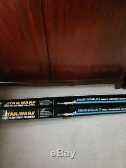 Star Wars Force F X Anakin Skywalker Light Saber Collectible
