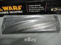 Star Wars Force Fx Mace Windu Attack Of The Clones Master Replica Lightsaber