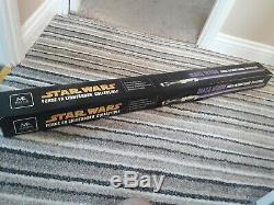 Star Wars Fsx Master Replicas Light Saber(mace Windu)