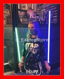 Star Wars Galaxy's Edge Ahsoka Tano Lightsaber Clone Wars Hilts 31/26 (2)blades