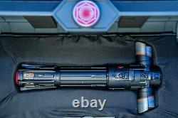 Star Wars Galaxy's Edge KYLO REN Legacy Lightsaber With 36 Blade & Stand Set NEW